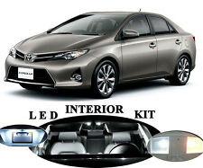 LED Package - Interior + License Plate + Reverse for Toyota Corolla (11 pieces)