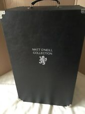 "Tonner MATT O'NEIL DOLL WARDROBE TRUNK CASE for 17"" Vinyl Doll, Ensembles + more"