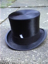 Superb Woodrow, Piccadilly, London Black Silk Top Hat Sz 7¼ .