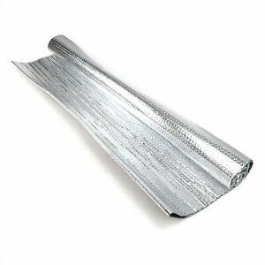 """5mm 39""""x24"""" Car Heat Shield Reflective Sound Deadener Insulation - Bonnet Hood"""