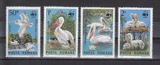 TIMBRE STAMP  4  ROUMANIE Y&T#3543-46 OISEAU BIRD WWF NEUF**/MNH-MINT 1984 ~B68