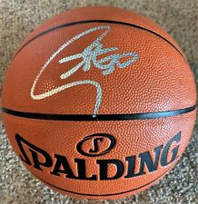 Steph Curry Signed Full Size Basketball Autograph Auto Fanatics Hologram Bold !