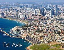 Israel - TEL AVIV - Travel Souvenir Fridge MAGNET