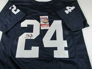 OJ McDuffie Penn State Nittany Lions Signed Autographed Jersey JSA