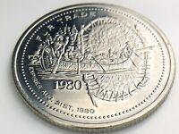 City Of North Bay Ontario Canada Fur Trade One Dollar Value Expires 1980 J648