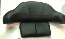 Harley  04 - up Touring Backrest  Cover/ Comfort Stitch WITH OSTRICH INSERT
