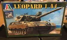 New 1:72 Italeri Leopard 1 A4 Military Tank Armor Model Kit 7002