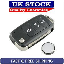 Volkswagen Tiguan Touareg Touran 3 Button Remote Key Fob Case Service Repair Kit