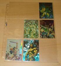 Conan All Chromium 5 Cards