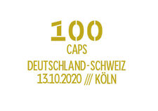 2020 Germany Toni Kroos 100 Capes Match Detauls Soccer Patch  Badge