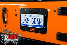 Jeep Wrangler JK 2007-2016 License Plate Relocation w/ Delete Kit JKS #8210/8200