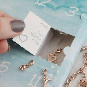 12 Days of Christmas Advent Calendar - Make Your own Charm Bracelet - Lisa Angel