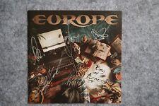 Europe - Bag of Bones CD Album signed / autograph / signiert