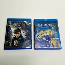 2 Blu Ray Movies   Night At The Museum 3 & Fantastic Beasts   Free Shipping