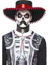 Senor Bones Make Up Kit and Transfers Skeleton Halloween Horror Day Of The Dead