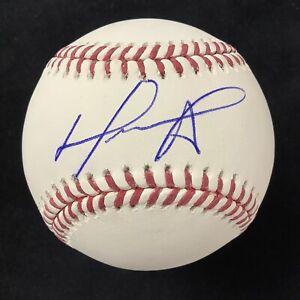 David Ortiz Signed Baseball Manfred Boston Red Sox DH Big Papi Autograph JSA 1