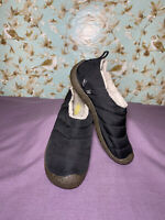 Size 7 | Women's Keen Shoe Cush Howser II Quilted Bootie Loafer Black