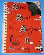 New listing 1986 Baton Rouge Louisiana Hardback Spiral RIVER ROAD Recipes #2 COOKBOOK Creole