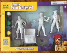 Wild Republic Paint N Play Pirate Kids Toys Crafts Pretend Play