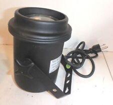 American DJ 30W / 120V Theater Style Spot Light Black Case 3 Prong Plug PL-1001
