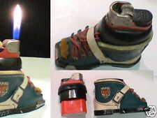 Briquet Ancien - DJEEP forme Chaussure - Vintage gas Lighter Feuerzeug Accendino