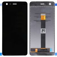DISPLAY LCD+TOUCH SCREEN per NOKIA 2 N2 NERO TA-1029 VETRO TA-1011 TA-1035 1007