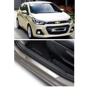 Chevy Spark:THE NEXT SPARK Font Door Sill Scuff Plate RH,LHSET