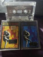 Guns N Roses Use Your Illusion 1 & 2 W/ Bonus Aussie Oz Seller Cheap Cassette