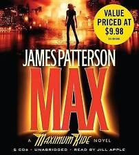 Max by James Patterson (CD-Audio) Max (Maximum Ride) Audio CD – Audiobook