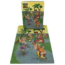 Vintage 1990 Alvin and the Chipmunks 100 pc Puzzle Complete Beach Skates 11.5x15