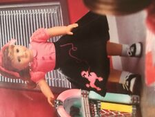 American Girl Doll MaryEllen Poodle Skirt Outfit