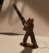 VINTAGE LEAD TOY SOLDIER; # 774; SOLDIER HOLDING A GRENADE LAUNCHER (Inv.#1861)