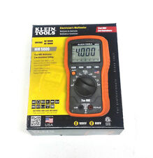 """Klein Tools MM5000 Electrician's Multimeter True RMS TRMS """"MADE IN THE USA"""""""