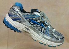 Brooks Adrenaline GTS 12 Gray/Blue Running Training Shoe 1101064E466 Men 10 (4E)