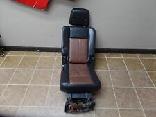 08 09 FORD EXPEDITION LEATHER 2ND ROW DRIVER CAPTAIN CHAIR SEAT SEATS OEM