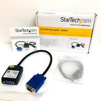 StarTech.com ST122LE 2-Port VGA Video Splitter - Black
