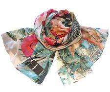 Fashion Womens Colorful Scarf Spain Desigual Wrap Shawl Headkerchief G&G Gifts