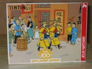 puzzle tintin lotus bleu 100p (complet)