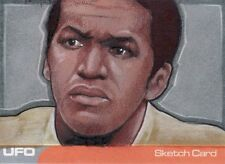 UFO Ultra Rare Wesley Smith /  Peter Carling Sketch Card by Unstoppable Cards