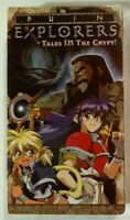 Ruin Explorers VHS 1995 Anime OVA 1998 A.D.Vision NTSC [Brand New & Sealed]