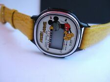 RARE Vintage ALBA by Seiko Y728-4000 Mickey Mouse LCD Digital Watch to fix!