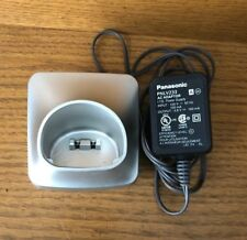 Panasonic PNLC1056 Cordless Phone Handset Charger With PNLV233 AC Adaptor TESTED