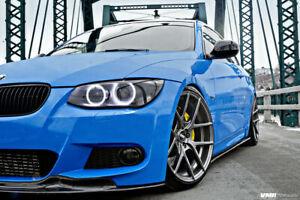 BMW 3 Series E92 E93 M Sport M tech LCI 2010-2013 Front Bumper Spoiler Splitter