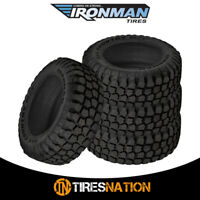 (4) New Ironman All Country M/T 35/12.5/17 121Q Mud Terrain Tire