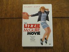 The Lizzie McGuire Movie - Hilary Duff, Adam Lamberg 2003 Disney DVD VERY GOOD!!
