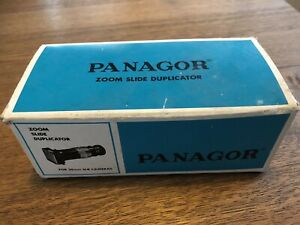 Panagor Zoom Slide Duplicator