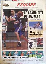 L'Equipe Journal 12/3/1999; Le grand défi du Basket/ Kjus/ Dopage Italien/ Euro