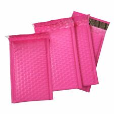 10pcs/4x7-Inch Poly Bubble Mailer Pink Self Seal Padded Envelopes mail Shipping