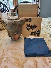 Fujioka Shuhei Iga Koro Japanese Vase Pottery Ceramics