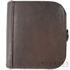 Mens Leather Large Square Money Tray / Coin Holder / Purse